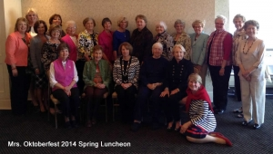 MrsO 2014 Spring Lunch Group