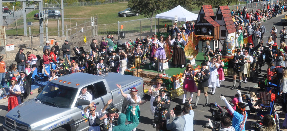 Oktoberfest in La Crosse, Wisconsin