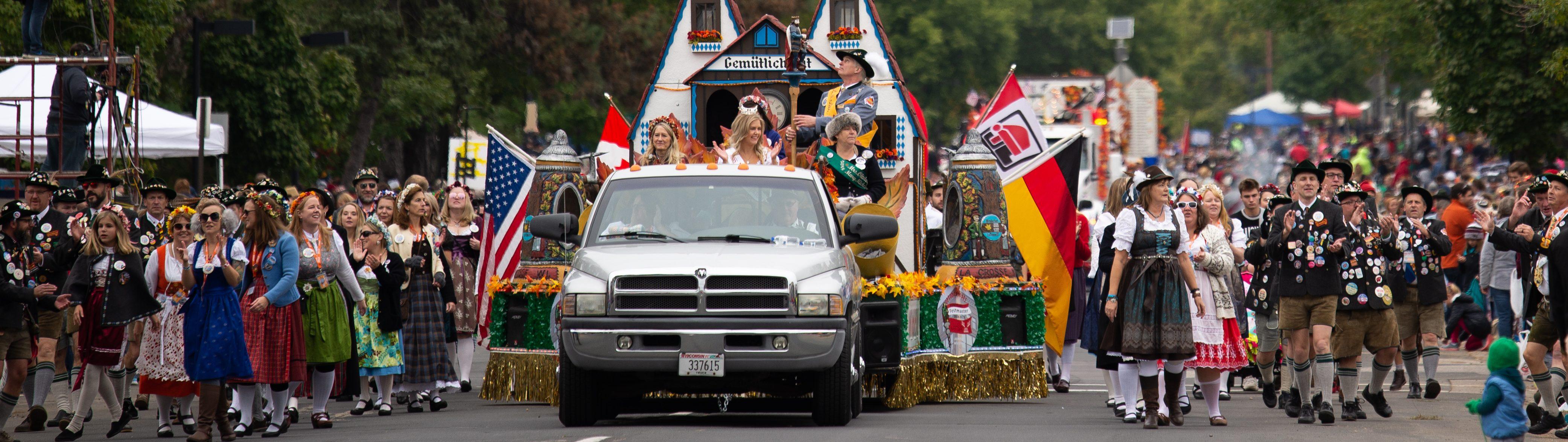 Oktoberfest Maple Leaf Parade Torchlight Parade